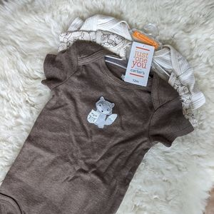 Just One You short sleeve onesie bodysuits